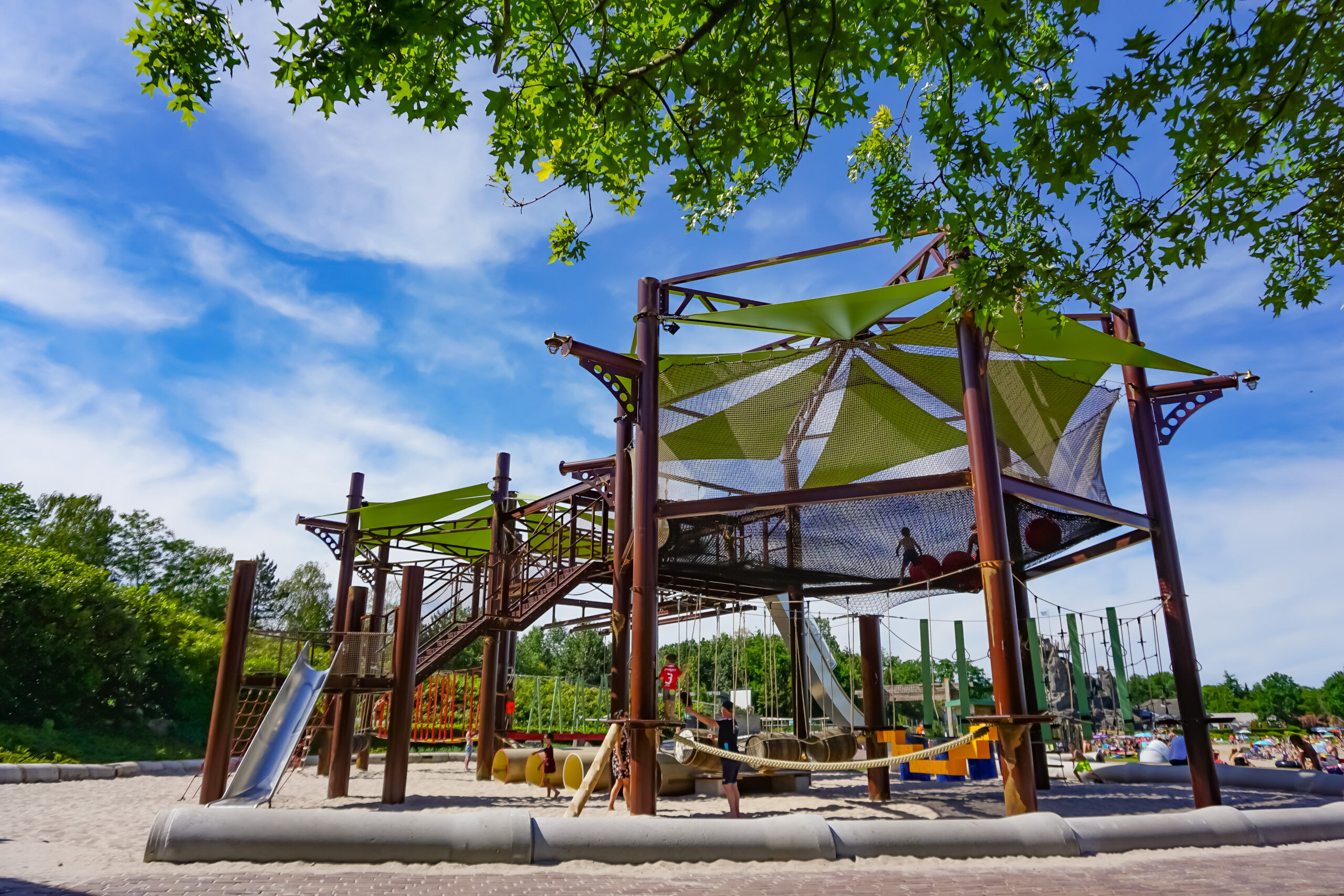 Klimpark zonder personeel